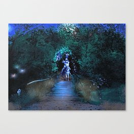 Entering Sherwood Forest Canvas Print