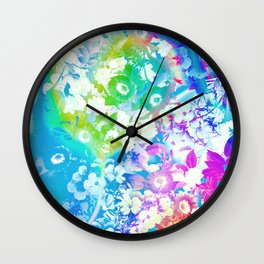 Forest Rave Wall Clock