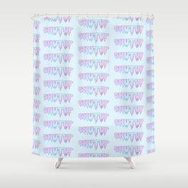 Shut Up! Shower Curtain
