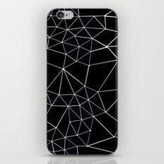 Segment Zoom Black and White iPhone & iPod Skin