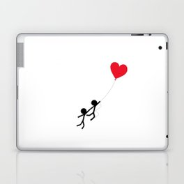 Love is in the air by Oliver Henggeler Laptop & iPad Skin
