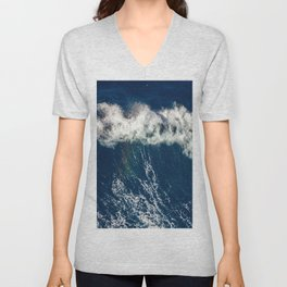 Rainbow Wave Unisex V-Neck