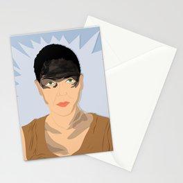 Furiosa (Blue) | Bad Ass Women Series Stationery Cards