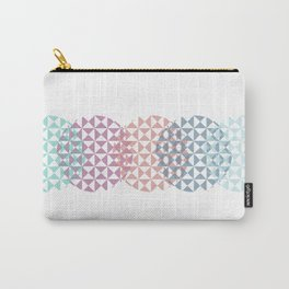 overlapping circles Carry-All Pouch