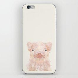 little piggy iPhone Skin
