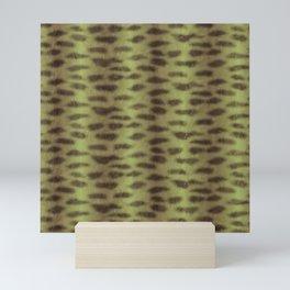 Tiger Shark Skin (Green) Mini Art Print