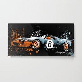 FORD GT40 MK1 Metal Print