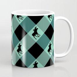 MOOSE CHECK Coffee Mug