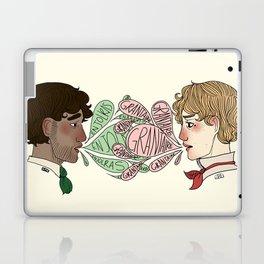 Name on my tongue Laptop & iPad Skin