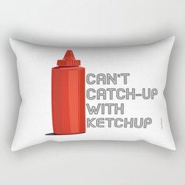 Ketchup Pride - Condiment Race Catsup Rectangular Pillow