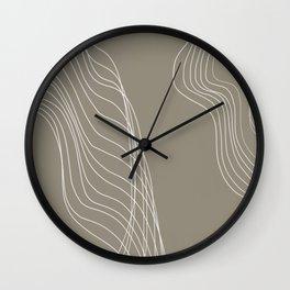 Interrupted Flow Wall Clock