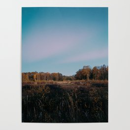 Last Light Over Holme Fen Poster