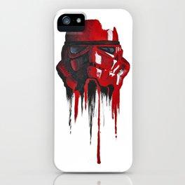 Procrastination in red 1 iPhone Case