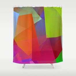 Out of the city Shower Curtain