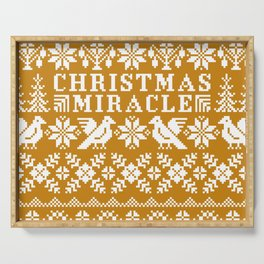 Christmas Miracle Serving Tray