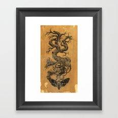 Tree of Death  Framed Art Print