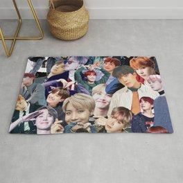 J-Hope BTS collage Rug
