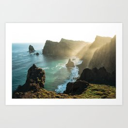 Ponta do Rosto, Madeira Art Print