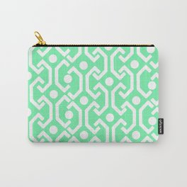 Ethnic Pattern (Mint) Carry-All Pouch