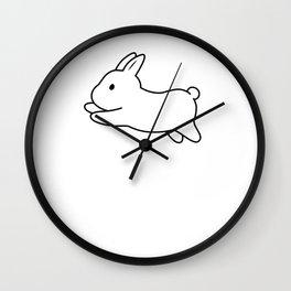 Tobe & Friends – Dwarf rabbit Wall Clock