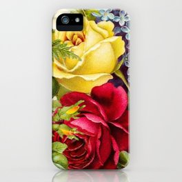 flowers profusion iPhone Case