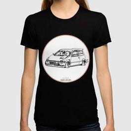 Crazy Car Art 0211 T-shirt