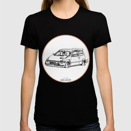 Crazy Car Art 0211 T-shirt