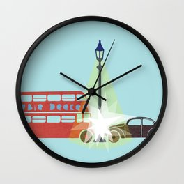 There is a Light Wall Clock