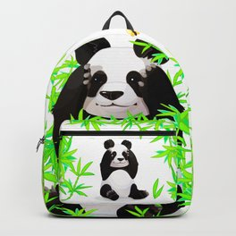 Cute big panda bear Backpack