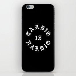Cardio Is Hardio iPhone Skin