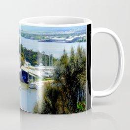 West Tamar Highway Launceston Tasmania Australia Coffee Mug