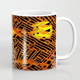 Nightmares:  City Asleep in the Raging Inferno Coffee Mug