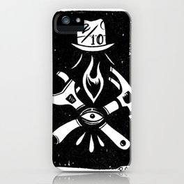 Paul Chatem_Two Over Ten iPhone Case