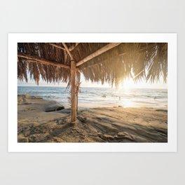 Punta Cana Beach Art Print
