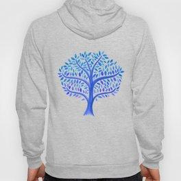 Periwinkle Blue Frost Tree Hoody
