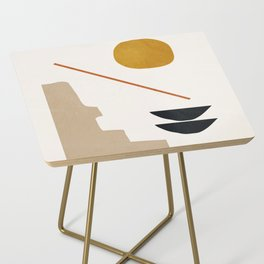 abstract minimal 6 Side Table