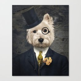 Sir Bunty Canvas Print
