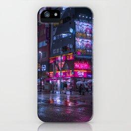 Shinjuku at night iPhone Case