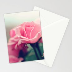 Dainty roses Stationery Cards