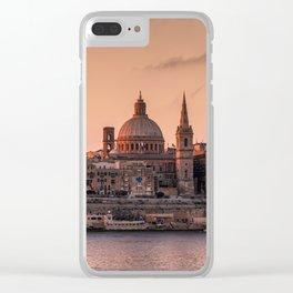 MALTA 01 Clear iPhone Case