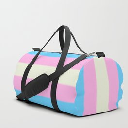 Transgender Pride Flag Duffle Bag