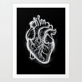 Telltale Heart Art Print