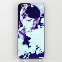 blade runner iPhone & iPod Skins featuring RACHAEL // BLADE RUNNER by mergedvisible