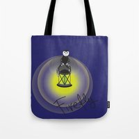 firefly Tote Bags featuring Firefly by Tink.hr