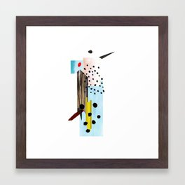 Woody Woodpecker Framed Art Print