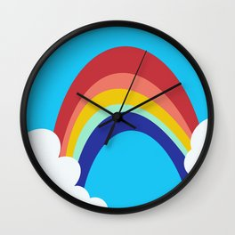 Sissy's clouds Wall Clock