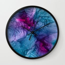 Waves for Days Wall Clock