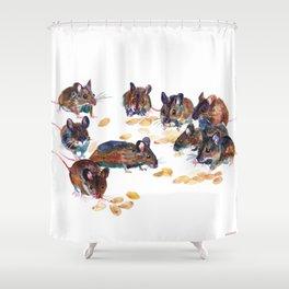 Mice Shower Curtain