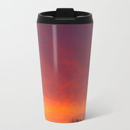Sunrise over the rooftops Travel Mug