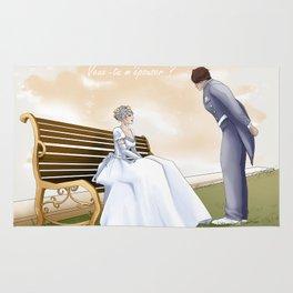 Demande en mariage Rug